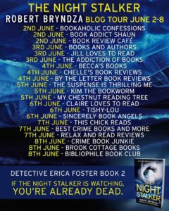 NightStalker Blog Tour poster